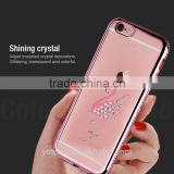 2016 new products ultra thin stylish tpu shinning glitter cell phone case cover for iphone 6/6s