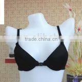 2016 The classical simple black style front closure bra