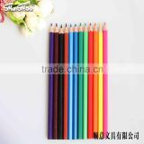 12 pcs plastic color pencil in bulk