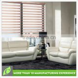 High quality Factory wholesale Custom curtains and zebra blinds windows with built in blinds