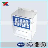 Acrylic Beard Cover Dispenser for Safety Disposable and Chemical Resistant Clothing Shoe Cover and Hairnet Dispensers