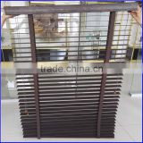 Lighter weight than bass wood paulownia wooden shutter