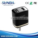 Newest Micro Usb Charger Adapter,Super Fast Mobile Phone Charger,Dual Usb Wall Charger