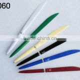 low cost knife-shape ball pen for travel and hotel/QT059
