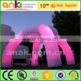 led light inside spider tent frame inflatable dome tent                                                                                                         Supplier's Choice