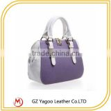 2016 Fashion Christams multi-color guangzhou lady plain leather handbag                                                                         Quality Choice