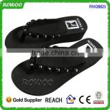 High Fashion Lady Slippers Beauty Rhinestone Shoes Flip Flops Sandals