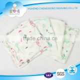 70%bamboo 30%cotton fabrics bamboo muslin wraps baby diapers made in China