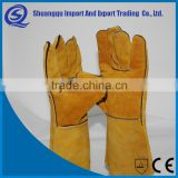 Wholesale Ce Standard Light Duty Leather Archery Gloves