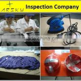 exercise equipment inspection/ quality control service for ball/ final random inspection for product