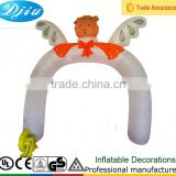 DJ-520 2015 small bear arch inflatable christmas supermarket Opening decorations arch