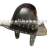 Leather Pikemans Helmet