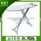 steel mesh steam Ironing board with wire holder