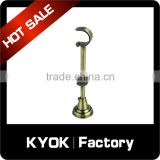 KYOK wholesale natural style adjustable curtain rod bracket,curtain rail bracket,curtain rod bracket plastic iron                                                                                                         Supplier's Choice