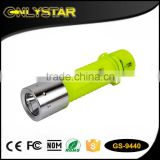 Onlystar GS-9440 wholesale xml t6 800lm emergency rechargeable most powerfu diving led flashlight