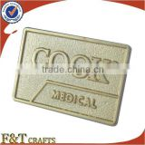 promotional advertisement bullion wire badges
