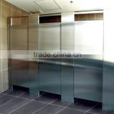 Shinning Metellic Surface Hpl Compact Laminate Door For Public Toilet