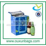 Bag in box wine cooler dispenser cooler tote bag