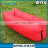 Fatory New Design Air Lounge inflatable air sleeping bags with headrest inflatable lounge chair