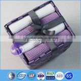china supplier wholesale yarn-dyed waffle weave cotton gift towel set packing