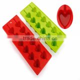 100% food grade custom cool frozen silicone ice cube tray