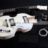 Violin bass unfinished Diy electric bass guitar kit