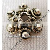 Tibetan Silver Jewelry Alloy Bead Cap, 10mm(AA180)