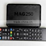 Best Internet tv Mag 250/Mag 254 Linux Iptv tv Box support youtube/skype/facebook/gmail support USB wifi mini Mag250 tv Box