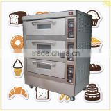 SINOCHEF Three Deck Six Trays Electric Bakery Oven/Kitchen Food bakery machine/baking equipment