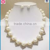 hoe sell designs gold plated pearl baby teething necklace wholesale