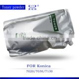 Bulk universal copier toner powder K7022 compatible for Konica K7122 7020 7030 7130 in toner cartridge