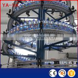 Width Adjustable International Curve Conveyor to Transporting PET Bottles