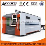 Alibaba Best Manufacturers, High Quality IPG2000W Fiber Laser Metal Cutting Machine With Protective Cover 2 years warranty