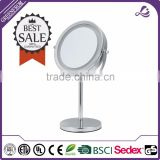 Multifunctional desktop bathroom mirror wall mounted dressing mirrors