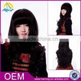 New fashion lady's hair permanent wigs
