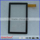 "32"" Customized transparent projected capacitive touch screen panel with USB controller"