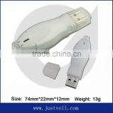 bulk cheap usb memory stick light up usb flash drive , usb 2.0 driver, plastic case usb flash drive