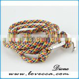 Competitive Price Making Rope Bracelet Anchor Handmade Anchor Nautical Rope Bracelets