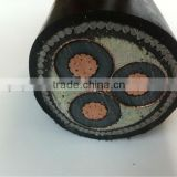 medium voltage stranded copper conductor 8.7/15 KV steel wire armored power cable according to IEC 60502-2