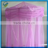 New Round Purple Queen King Size hanging Bed Canopy Mosquito Net Mosquito net for girls bed