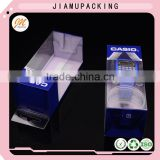 Clear plastic watch box , cheap plastic box for watch pacakging , custom watch packaging box