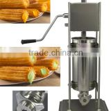 Free shipping 2L Spain churro maker machine, manual churros making machine ( 3L 5L 7L 10L 12L available) for small business