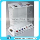 Tall acrylic watch display case plexiglass electronic product display lucite storage case