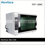 New Face NV-208C China supplier beauty equipment baby bottle uv sterilizer	uv toothbrush sterilizer	high temperature sterilizer