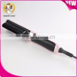 Free Sample Hair Straightening Comb ceramic fast brush hair straightener LED display