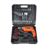 HOT SALES POWER TOOL SET FOR HOUSEHOLD TOOL APPLICATION IMPACT DRILL SET WITH 56PCS TOOL KITS FROM CHINA