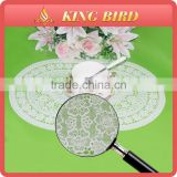 Plain White Vinyl Restaurant Soft Custom Dinner PVC Chinese Placemats