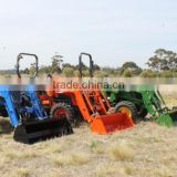 top quality EURO style tractor use hydraulic operating front end loader with CE cetification