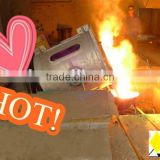 500kg iron/aluminum/copper induction melting furnace