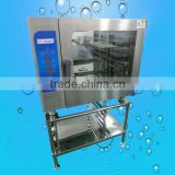 Hot sale commercial baking oven,6 deck combi steam oven with rack(ZQF-061DX)